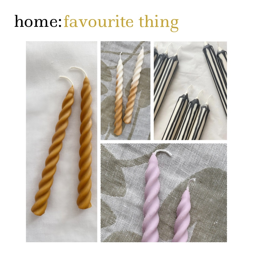 home: favourite thing [ candles]