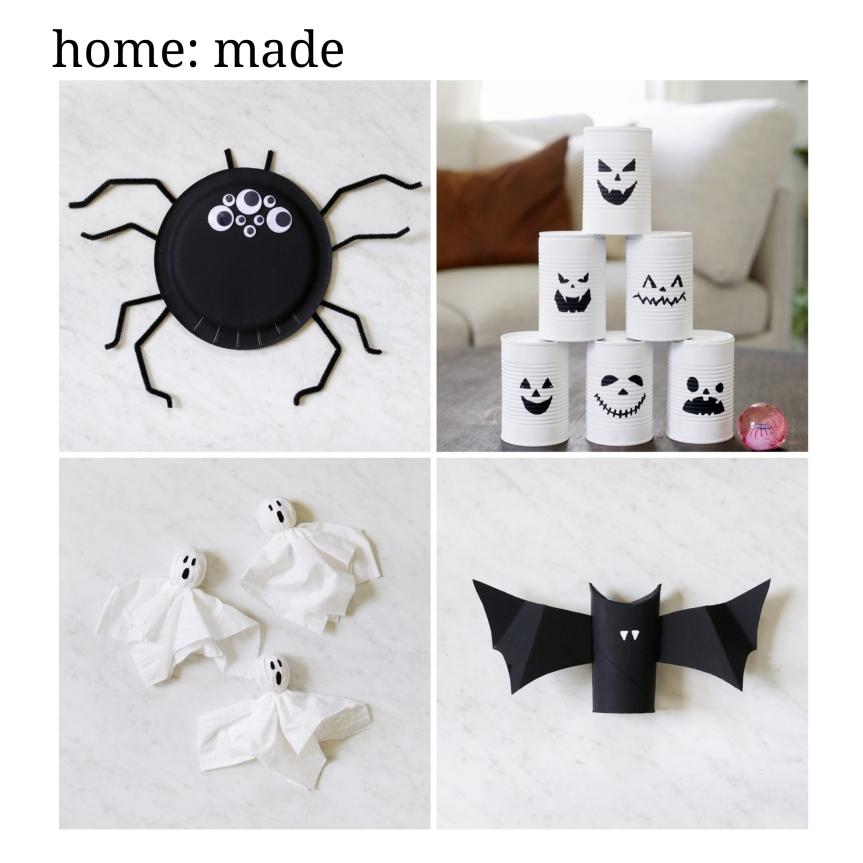 home: made [ kids Holloween crafts]