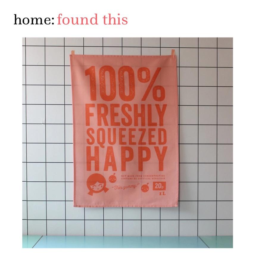 home: found this [ tea towel]