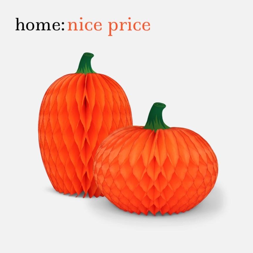 home: nice price [ paper pumpkins]