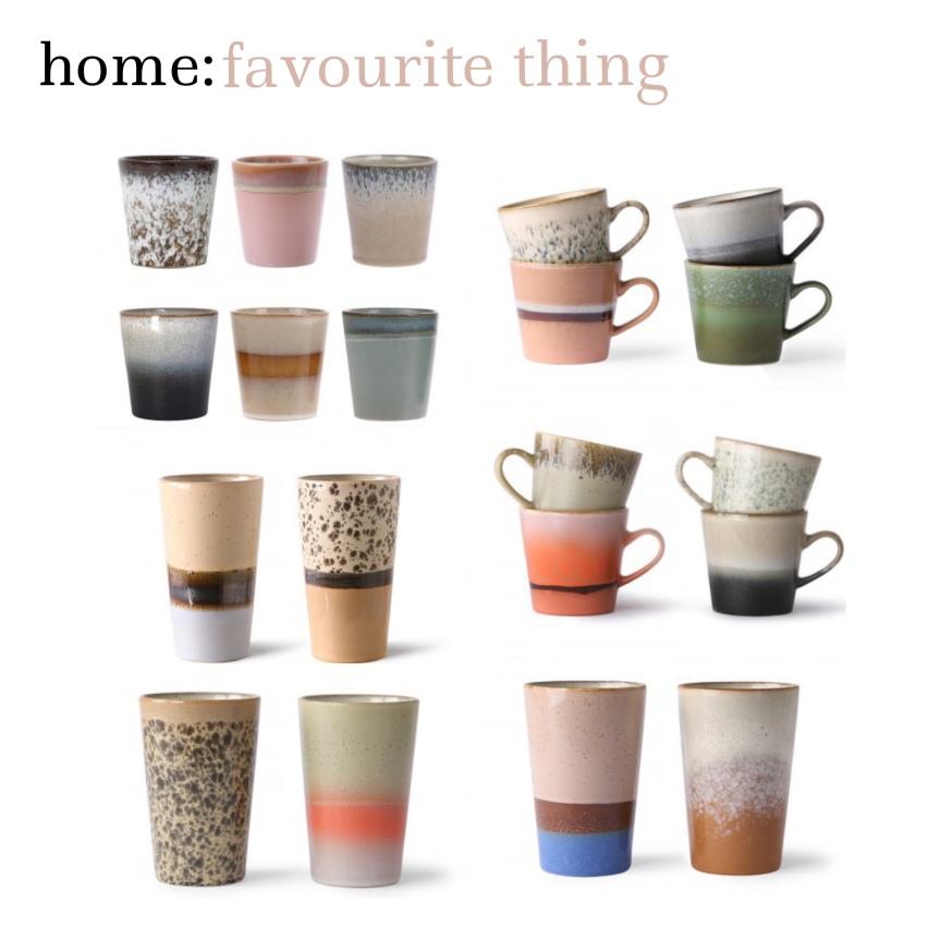 home: favourite thing [ HK Living ceramics]